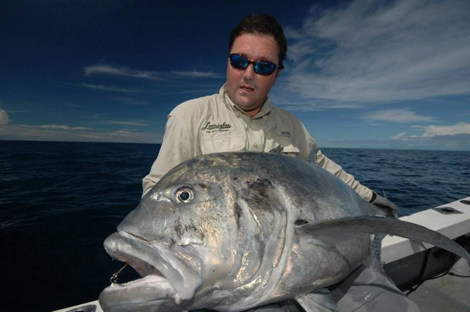 Big GT's to catch in Mozambique http//www.anglersworld.tv