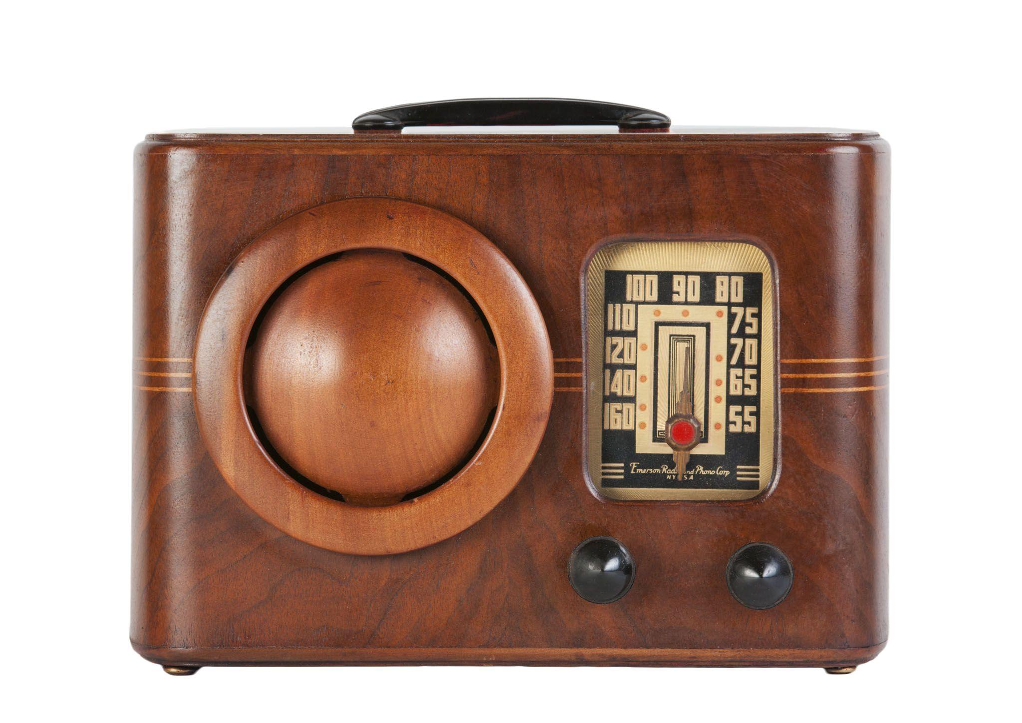 1939 Emerson Db 315 Circle Grille Radio Usa Vintage Radio Antique Radio Retro Radios