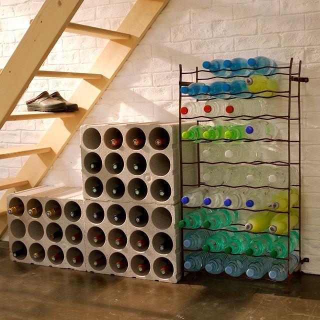casier 12 bouteilles en polystyrene