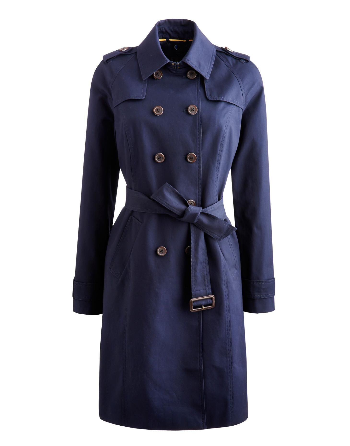 GABBY Womens Trench Coat