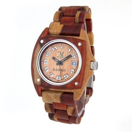 New Wood Watch, made from a variety of exotic hardwoods.  Love it!#Repin By:Pinterest++ for iPad#