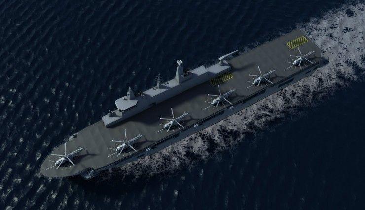 BAE Landing Helicopter Dock