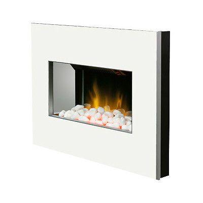 Dimplex Indoor Fireplaces New Clova Wall Mounted Electric Fire In White Electric Fires Wall Mounted Electric Fires Indoor Fireplace