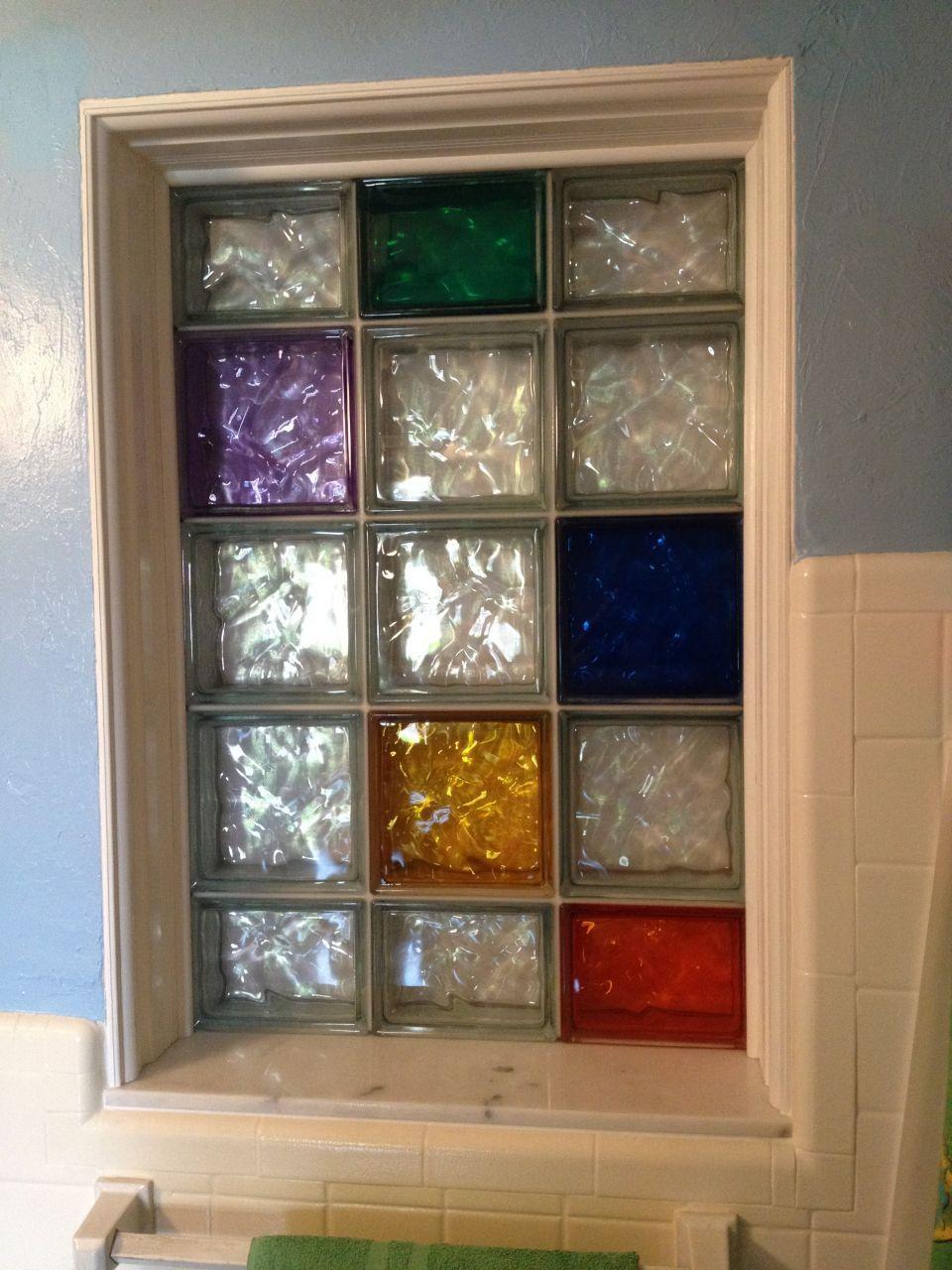 decorative glass bathroom windows project spotlight using art glass tile blocks in a kitchen  glass tile blocks