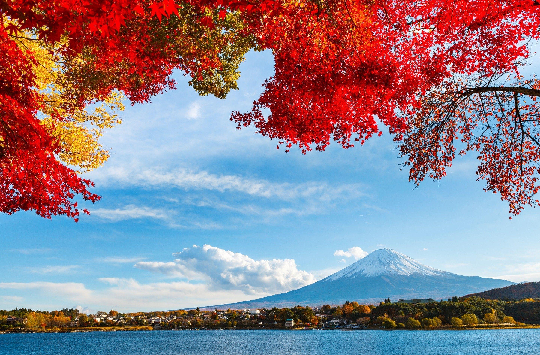 Mt Fuji Landscape Wallpaper Japan Landscape Scenery Wallpaper