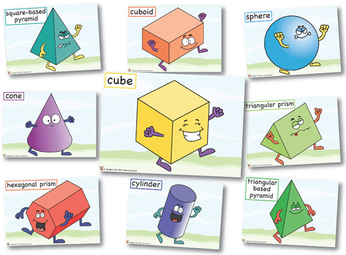 Learn English Vocabulary Through Pictures: Shapes and Colors