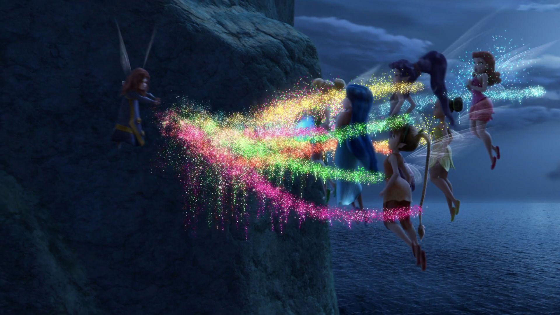 Zarina mixing up the Pixie dust to switch the fairy talent