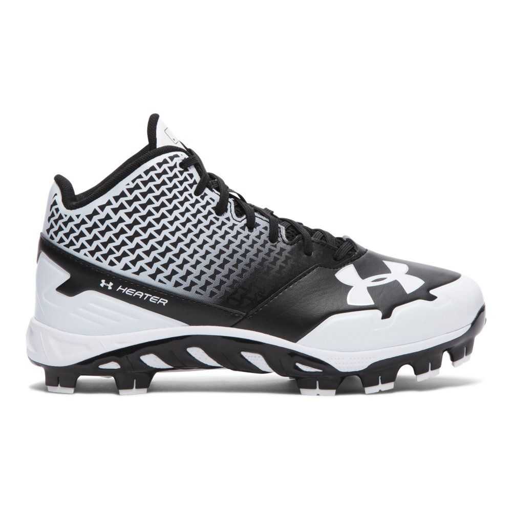 under armour kids spine heater mid tpu baseball cleat