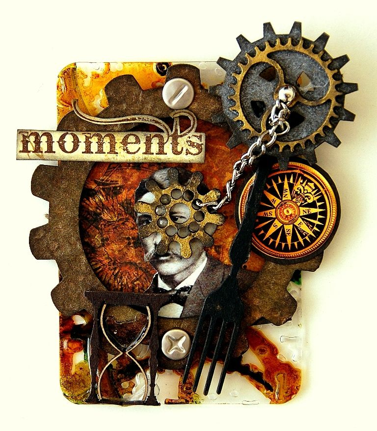 Scrapperlicious: Moments ATC * With Video Tutorial*