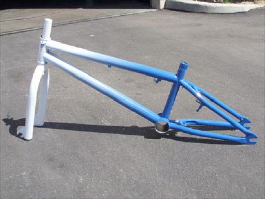 How To Paint A Bmx Bike Frame Bmx Bike Frames Bmx Frames
