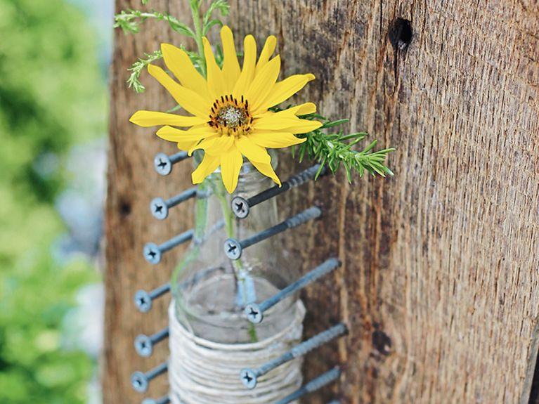 Basteln \ Gestalten - DIY-Anleitungen Gartendeko selber machen - gartendeko selbst basteln
