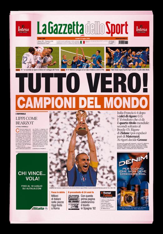 VOTA LA TUA TOP TEN! Calcio, Sport e Motogp