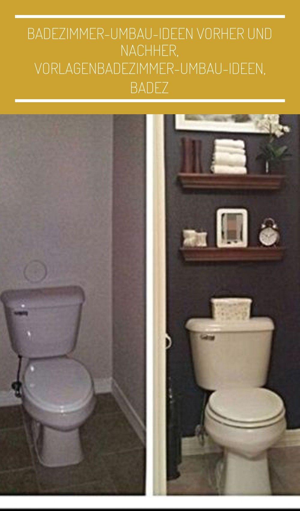 Badezimmer Umbau Ideen Vorher I 2020