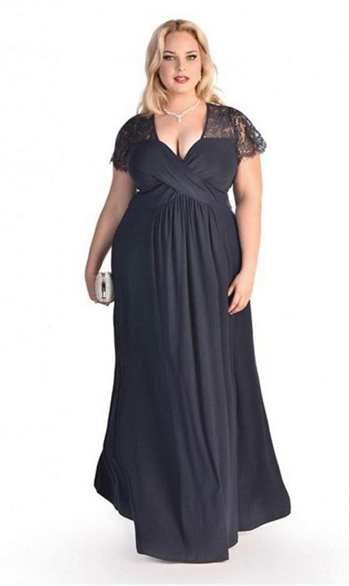 Women s Big Plus Size 2Xl 3Xl 4Xl 5Xl 6Xl Lace Long Maxi Evening Party Dress af266fa203a5