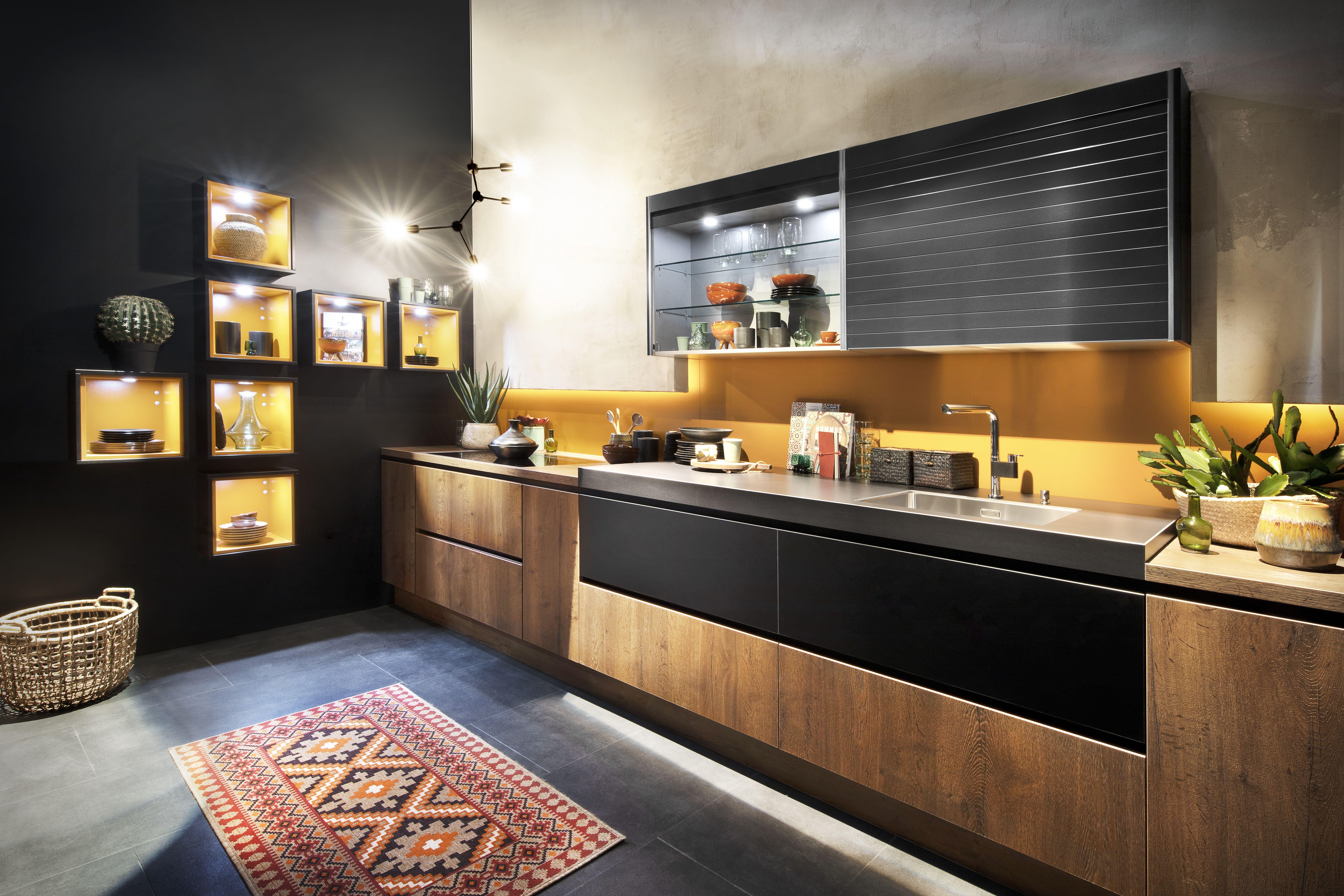 Toronto-GL Alteiche cognac #häckerküchen #häcker #küchen #eurocucina ...