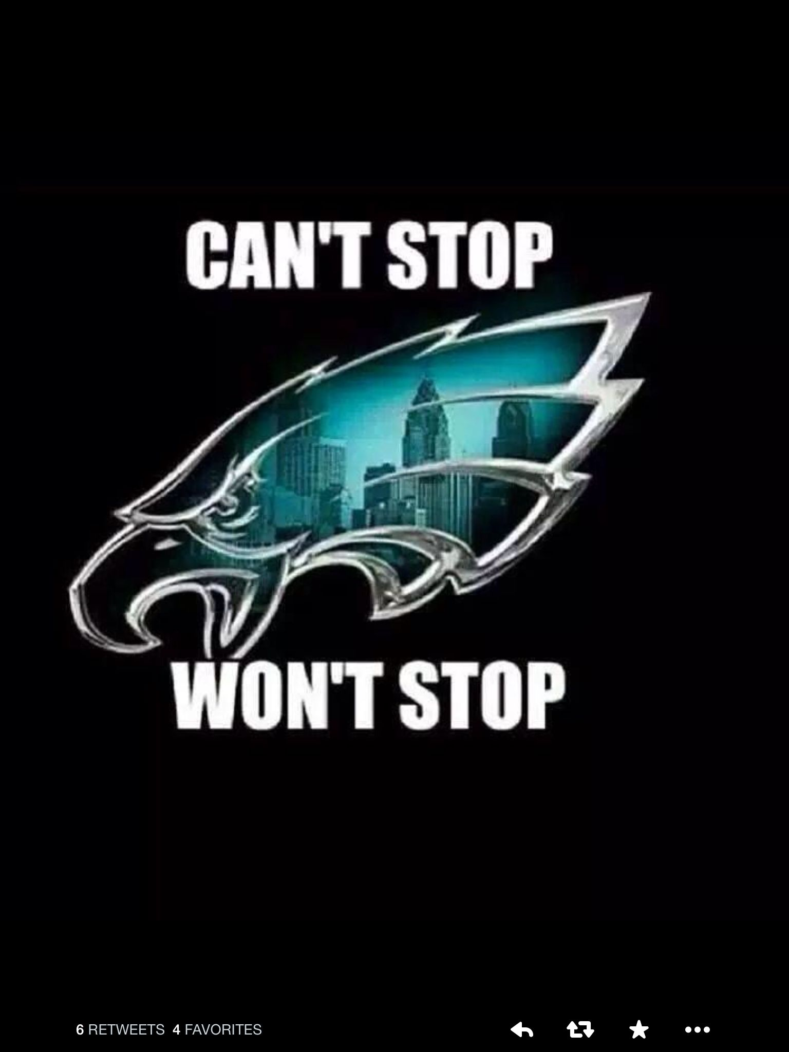 NEVER STOP BELIEVING IN MY EAGLES...NEVER