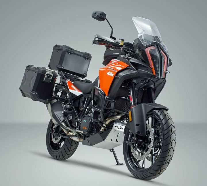 German Motorcycle Engineering Specialists Sw Motech Have Introduced A Comprehensive Range Of Model Specific Accessories For Ktm Adventure Super Adventure Ktm