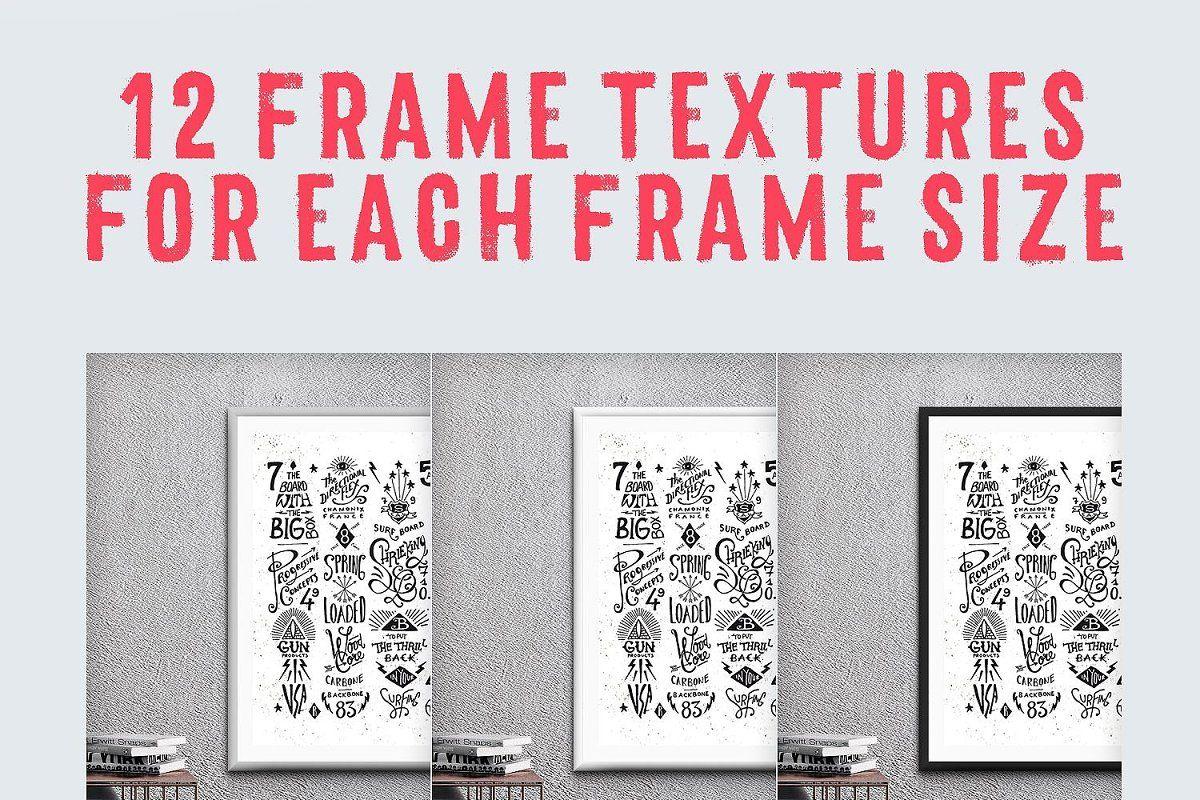 Colossal Frame Mockups Bundle 22k Frame Mockups Mockup Template Mockup Design