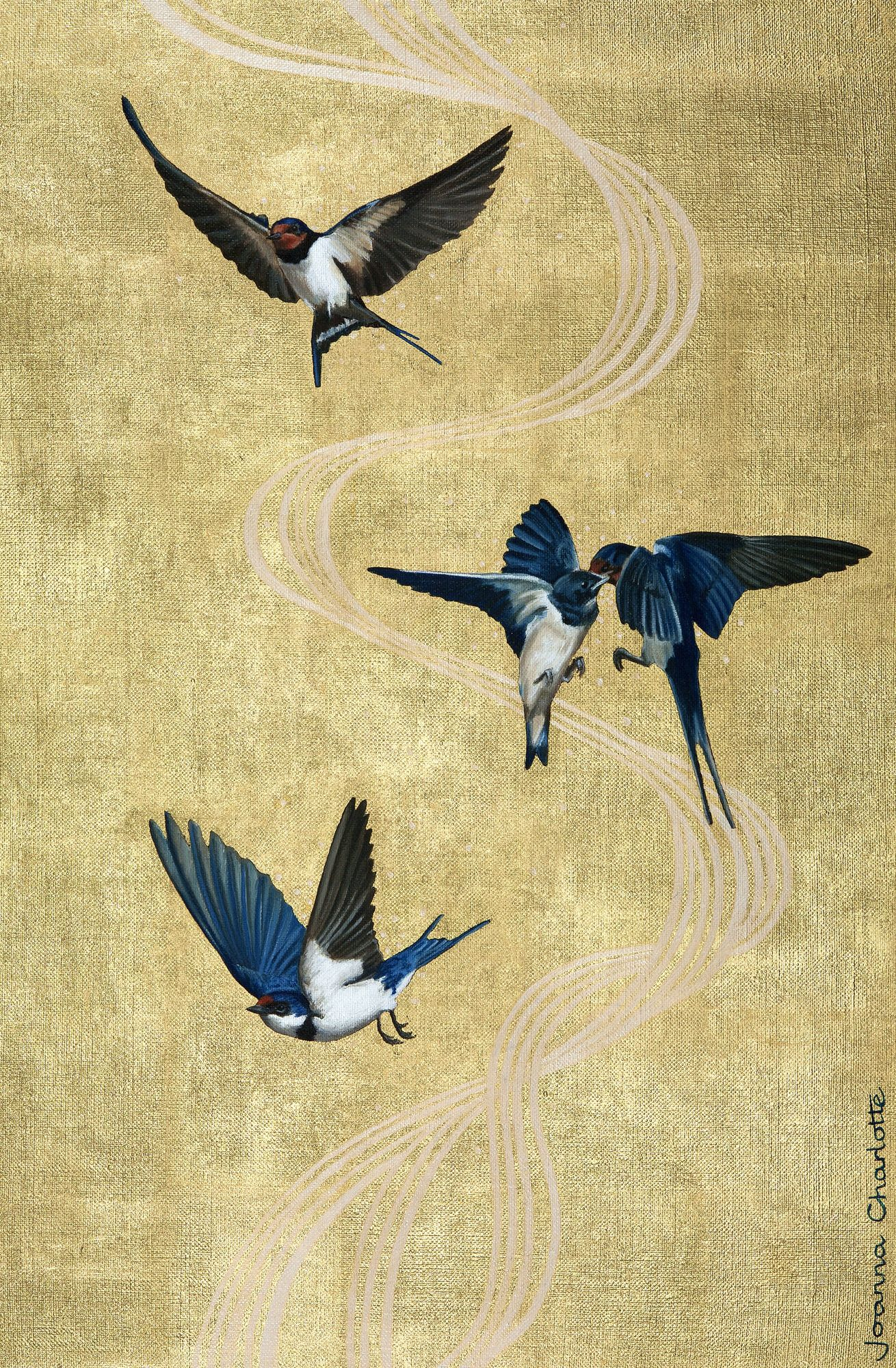 Swallows and House Martin limited edition signed giclee print ...
