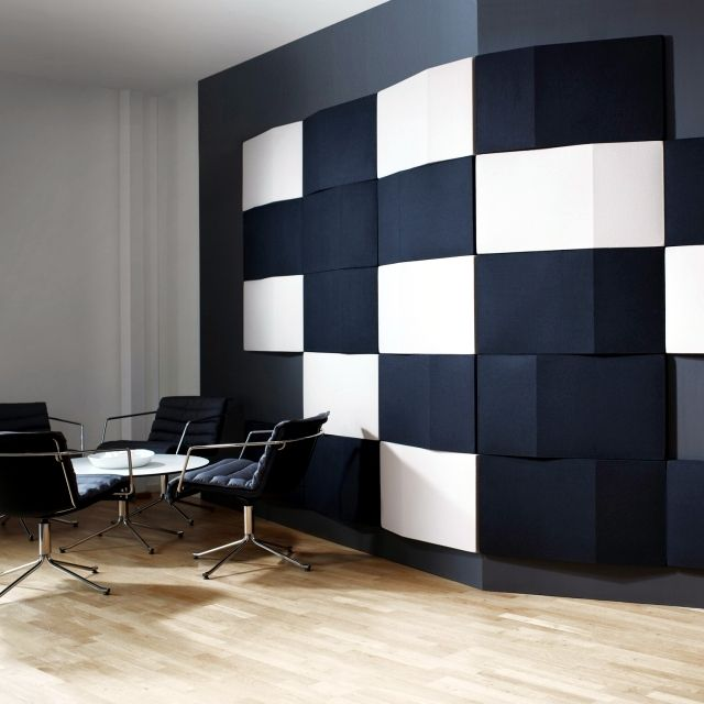 Beautiful Interior Design Ideas For Walls With Decorative Acoustic