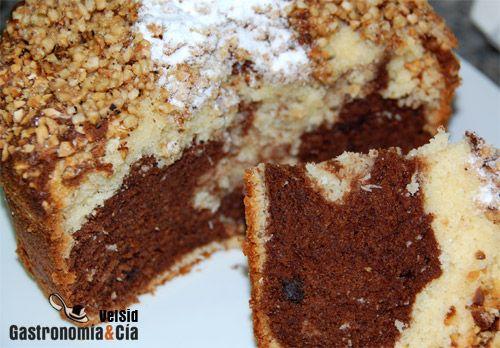 Receta De Bizcocho De Chocolate Y Coco Receta Bizcocho De Chocolate Recetas Dulces Dulces