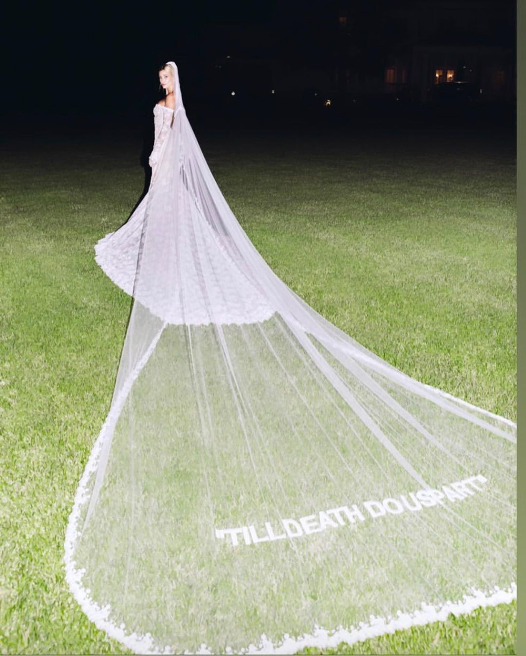 """Photo of Maeve Reilly on Instagram: """""""" TILL DEATH DO US PART """"Just don't get over it … an @off ____ white wedding dress !!!! … I was separated from my … of many custom dresses."""""""