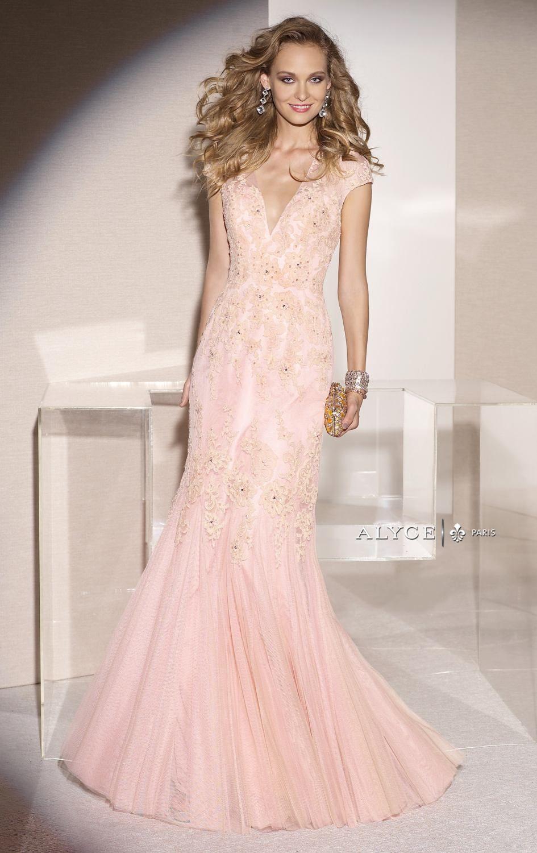 Alyce Paris 29733 by Alyce Jean De Lys | dresses | Pinterest | Lace ...