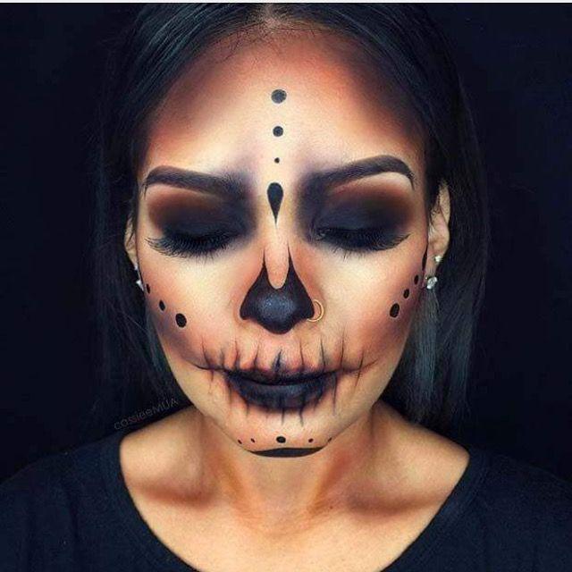 Pin by Mariana Mendez Castro on Maquillaje de fantasía Pinterest - scary diy halloween costumes