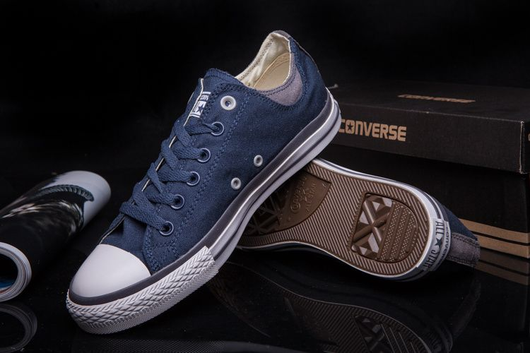 0ba70d294eae  converse Converse Blue Low Tops Chuck Taylor All Star II Womens Shoes
