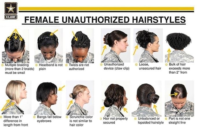 Like Other Types Of Rules The Sartorial Regulations That Are Supposedly Iron Clad Were Created By Those In Power T Hair Styles Womens Hairstyles Military Hair