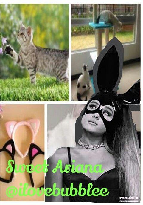 Ariana Grande @ilovebubblee