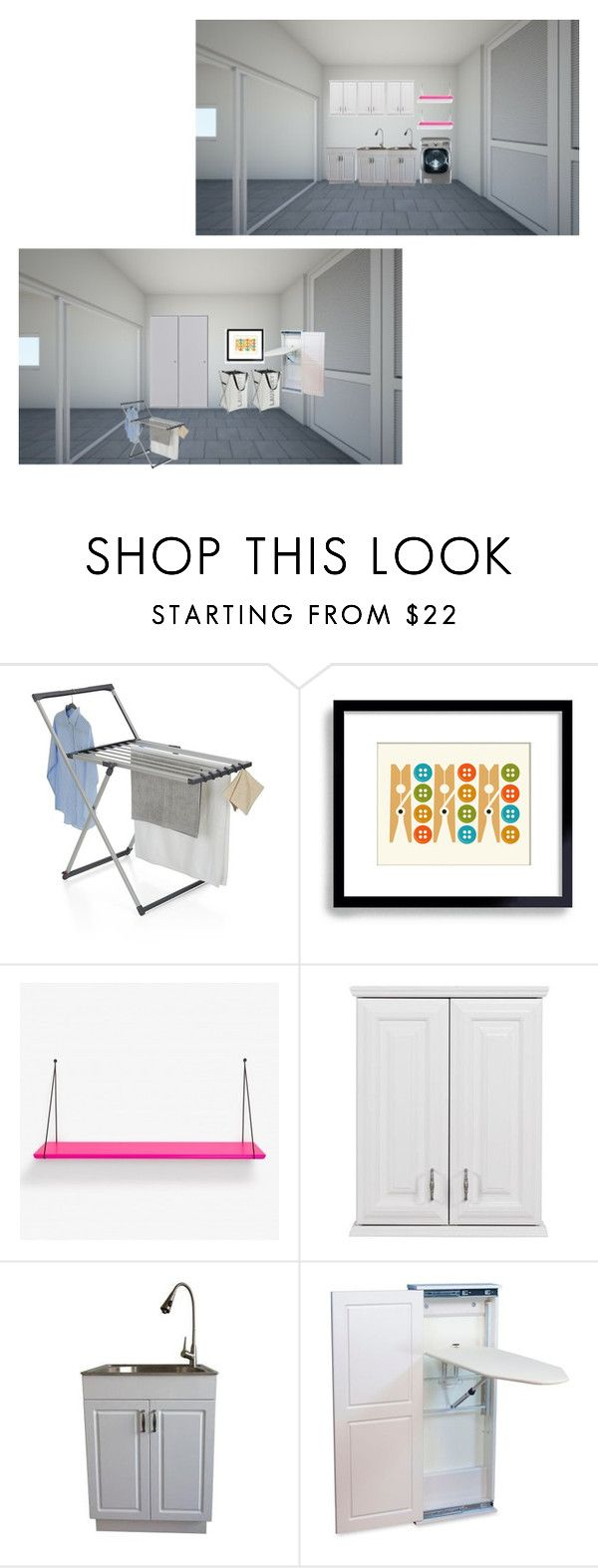 """Sem título #307"" by paradapermitida on Polyvore featuring interior, interiors, interior design, casa, home decor, interior decorating, Crate and Barrel, WALL, Household Essentials e Lassen"