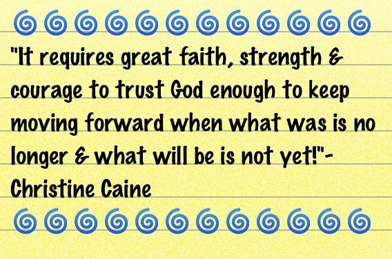 Awesome true words from Christine Caine...