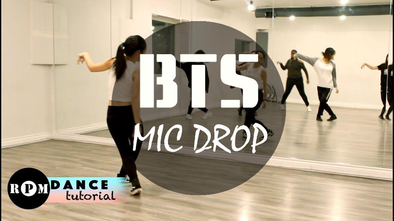 Bts Mic Drop Dance Tutorial Prechorus Chorus Mic Drop Dance Kpop Dance