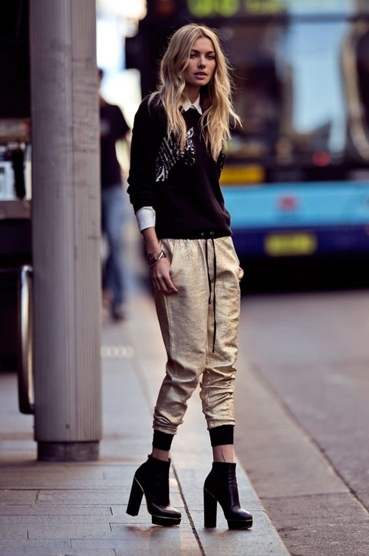 top 10 outfit ideas with jogger pants | jogger pants, joggers and