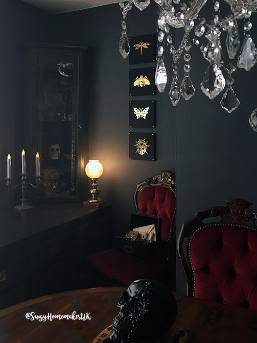 Victorian Gothic Dining Room The World Of Suzy Homemaker Www