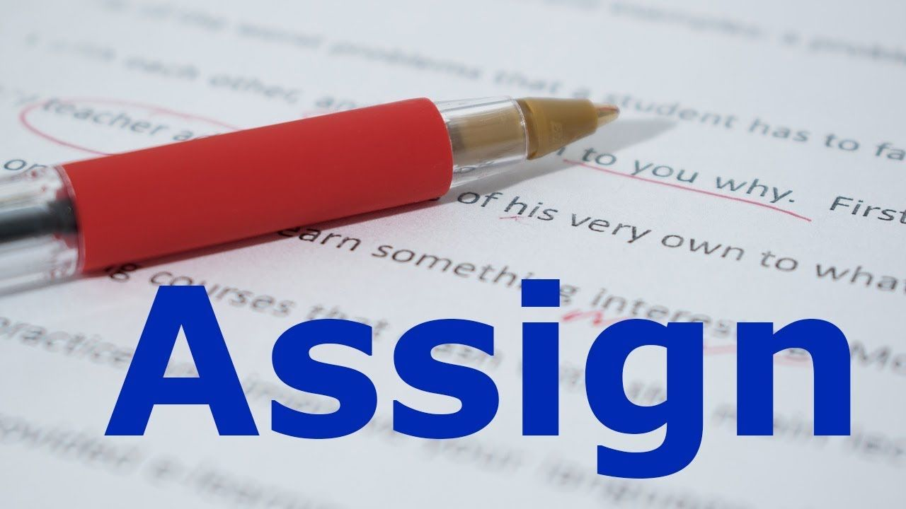 Assign meaning in Urdu with example sentences and