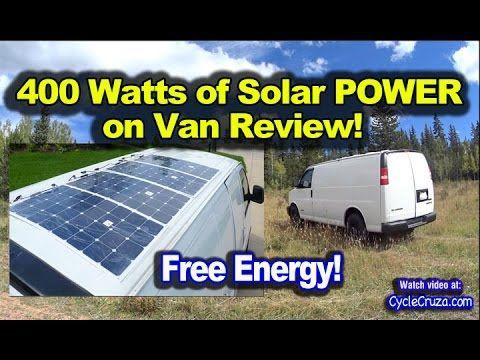 400 Watt Solar System Camper Van Review Thin Solar Panels On Roof Solar Panels Roof Solar Panels Solar
