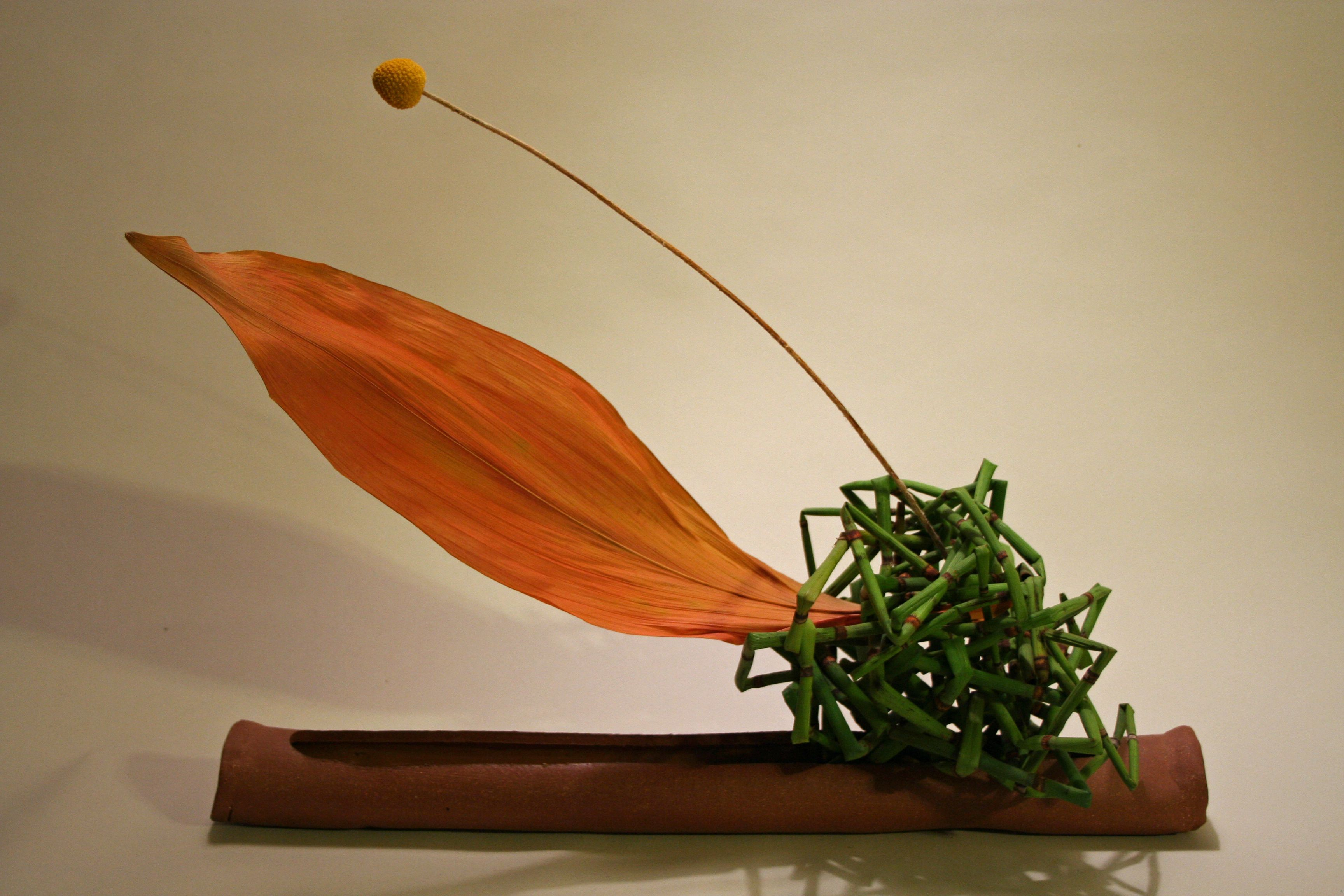 the art of ikebana a form of japanese floral design Ikebana 101 increase your appreciation for detail with ikebana by brookelynn morris ikebana is known as the art of japanese flower arranging their form might suggest a season, a landscape, or a haiku.