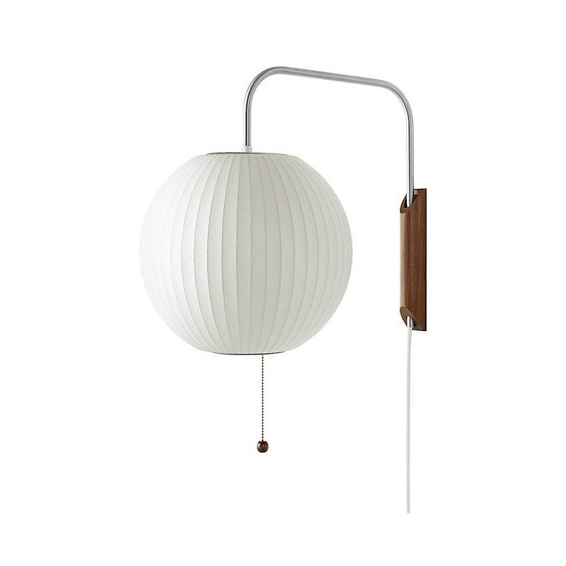 Nelson Ball Wall Sconce By Design Within Reach Bubble Wall Interior Design Living Room Wall Sconces
