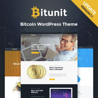 Bitunit bitcoin cryptocurrency wordpress theme
