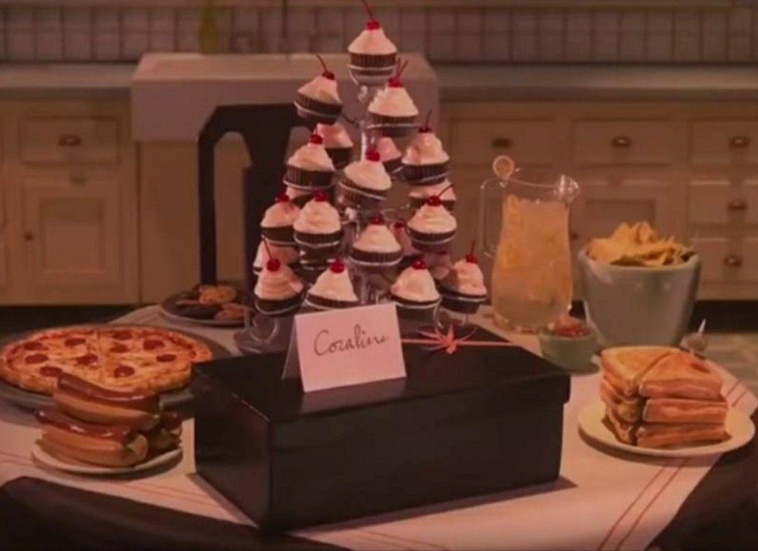 Coraline Lunch In 2020 Coraline Halloween Baking Food