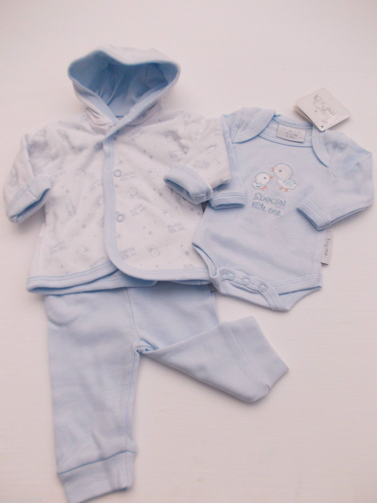 9a3a3d90f BNWT Baby Prem Premature Preemie Baby Boys Girls Clothes 3 Piece outfit Set  | eBay