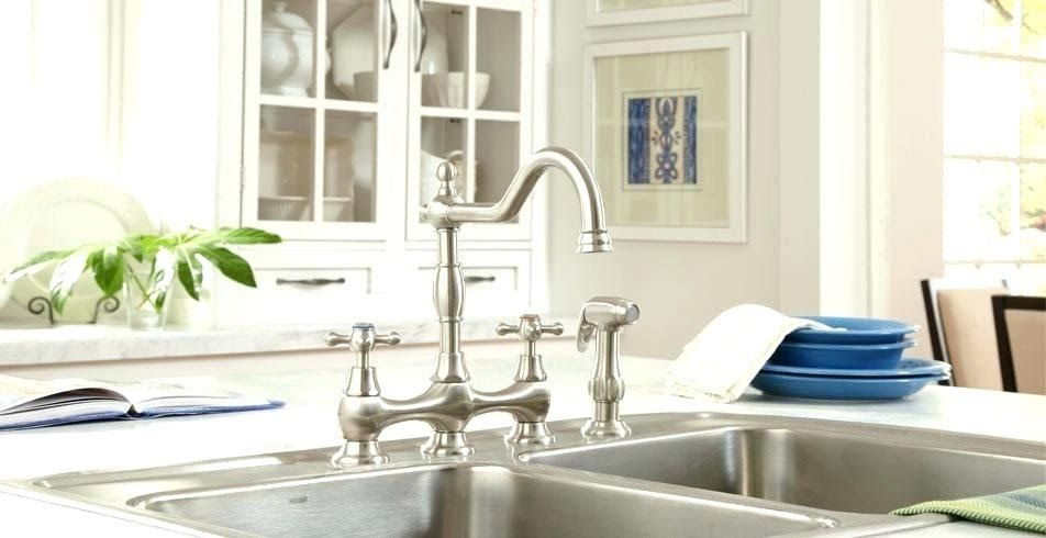 Bridge Faucets With Pull Down Spray Di 2020