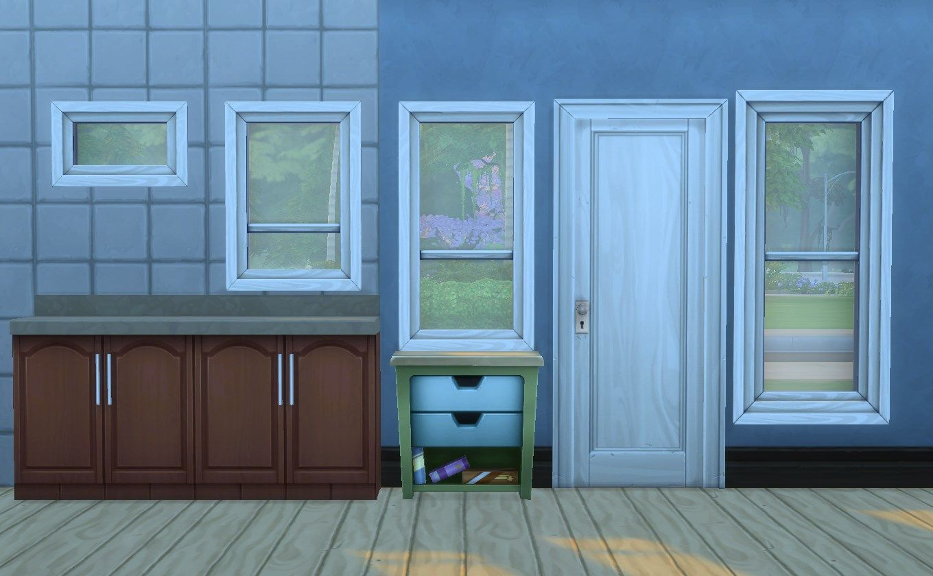 Mod The Sims - Update (Fix): Double Hung Window Add-Ons