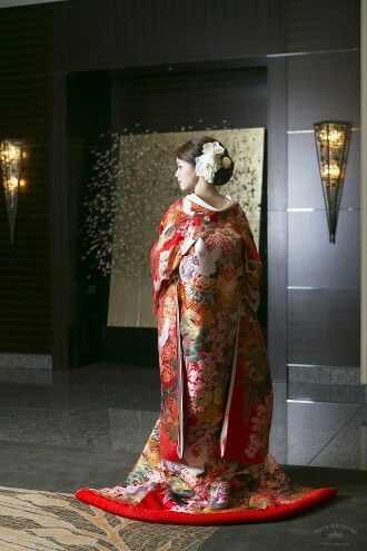 bc6e1540e6a4d 760 翔鶴花流水赤|ウェディングドレスのレンタルならジュレカーラ(東京・横浜・大宮)