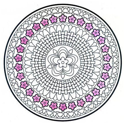 Mode Mandala lotus Malbuch Für Kinder Erwachsene Stress Töten Zeit ...