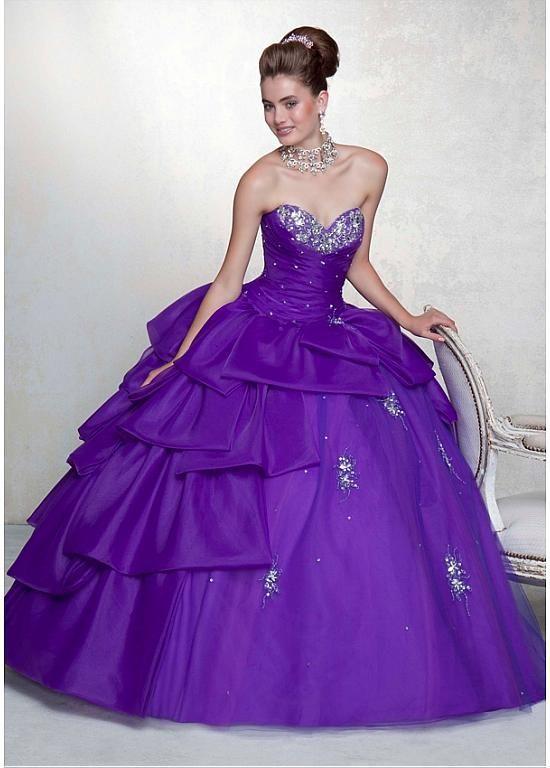 2e3a1a70f3 Preciosa organza de raso y tul de novia de escote palabra de longitud balón  vestido vestido de fiesta