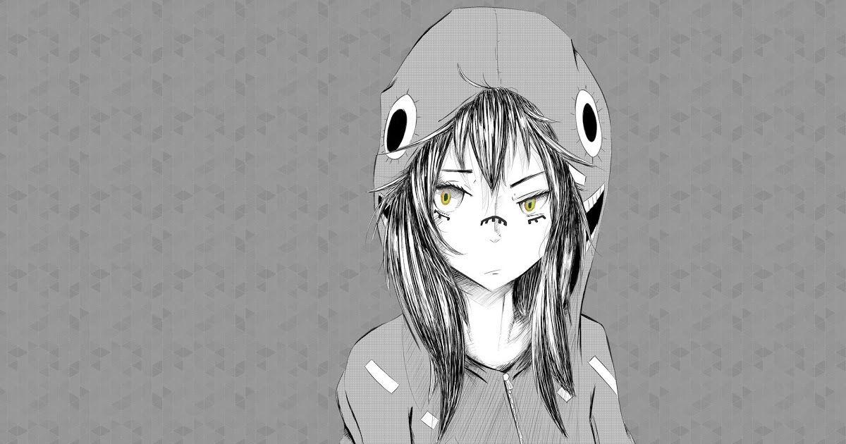 Anime Wallpaper 4k Black And White Wallpaper Drawing Illustration Anime Hat Girl Graphic 988 T Anime Wallpaper 1920x1080 Anime Wallpaper Hd Anime Wallpapers