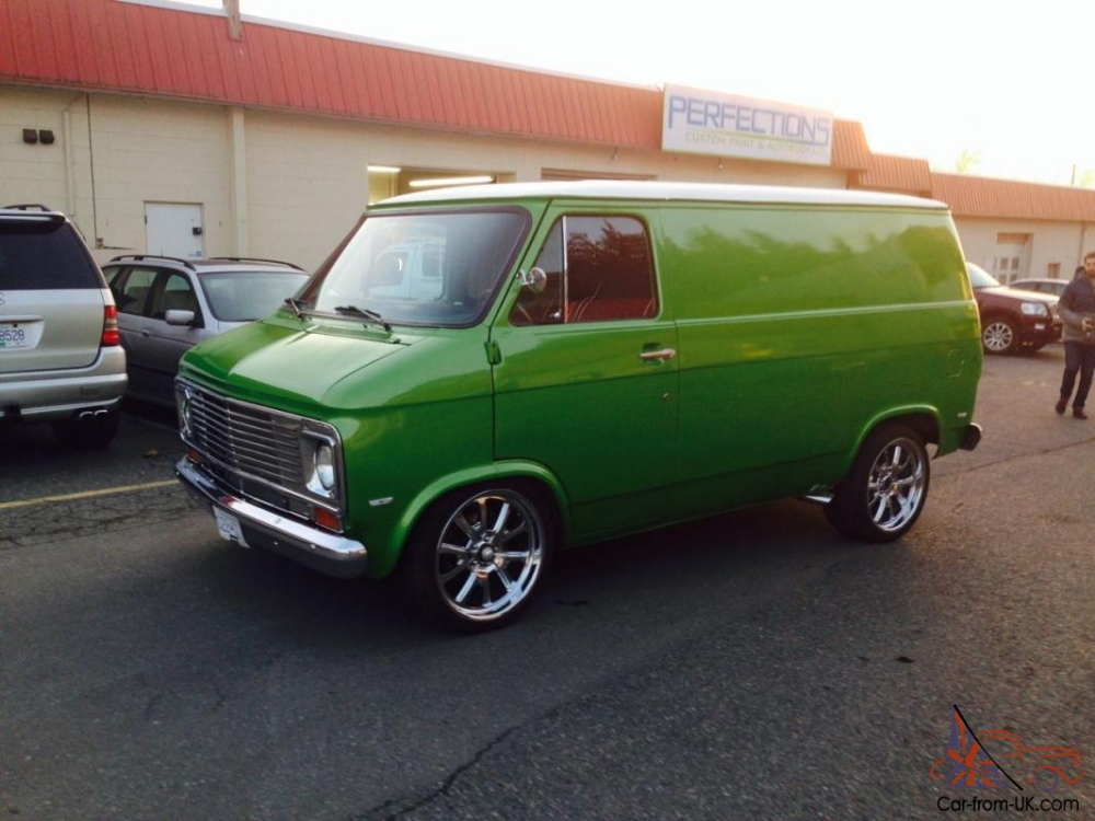 Chevrolet G20 Van Chevy Full Custom Hot Rod In 2020 Chevy Van